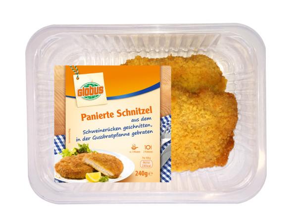 GLOBUS Panierte Schnitzel 240g