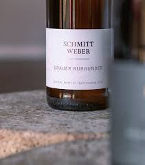 2017er Weisser Burgunder Klassik trocken Weingut Schmitt Weber
