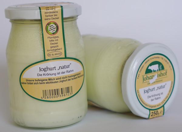 Joghurt natur 250 g Johannishof