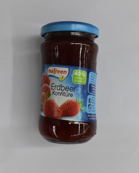 Natreen Konfitüre 225g, Erdbeere