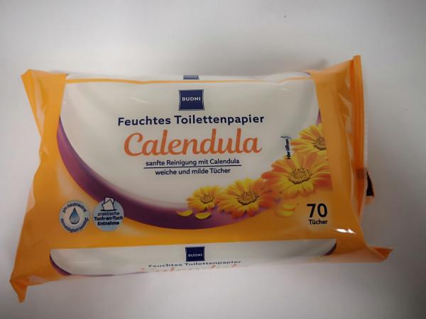 Budni Topa Feuchttücher Calendula 70er