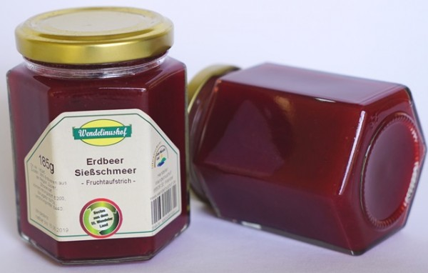 Sießschmeer Erdbeer 185g Glas Wendelinushof